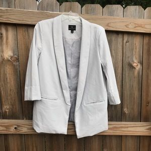 Light Gray Blazer - Large